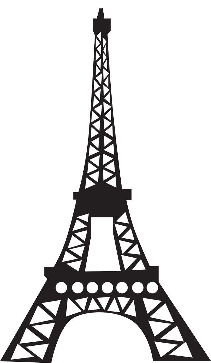 Eiffel Tower Coloring Pages Free Printable