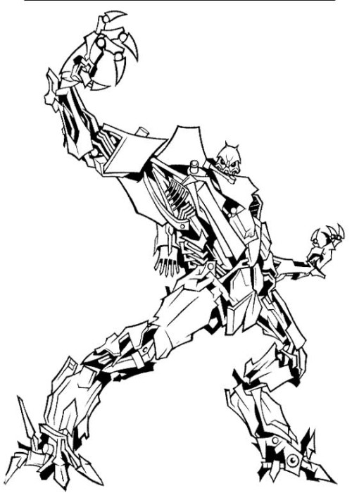 Robot Coloring Pages 360ColoringPages