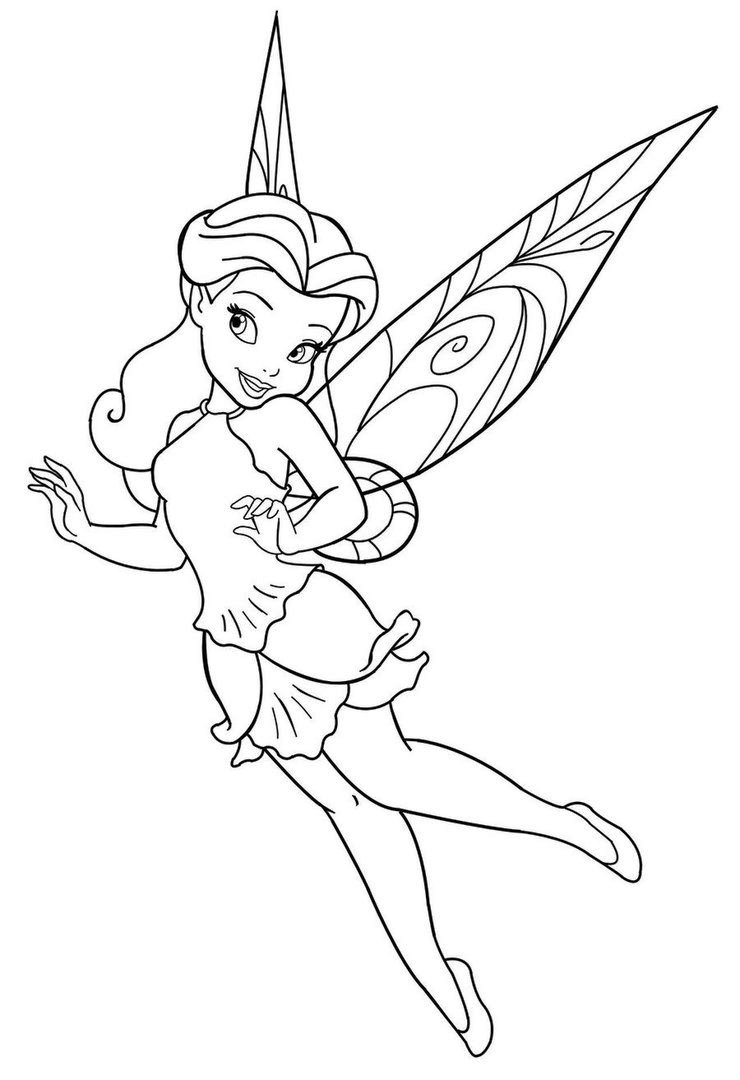 Fairy Coloring Pages | 360ColoringPages