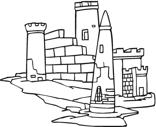Free Printable Castle Coloring Pages