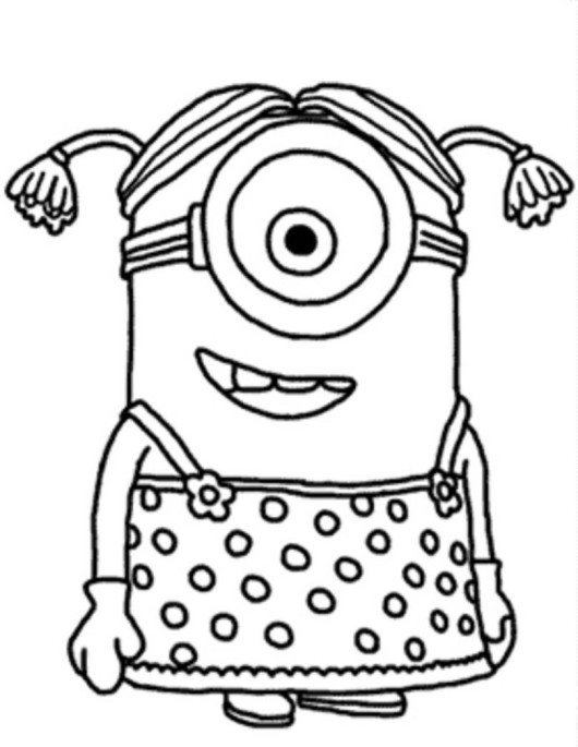 Despicable Me Coloring Pages Free Printable