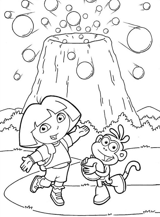 Dora Coloring Pages to Print