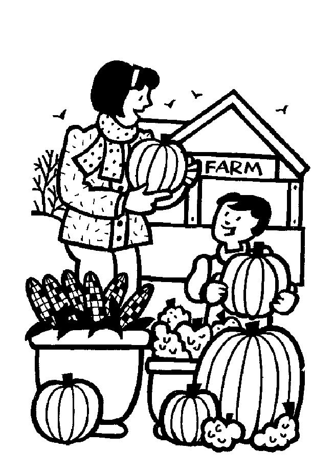 Farm Coloring Pages Printable Free