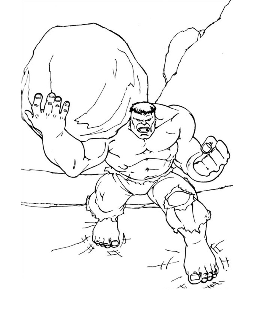 Hulk Coloring Pages 360ColoringPages