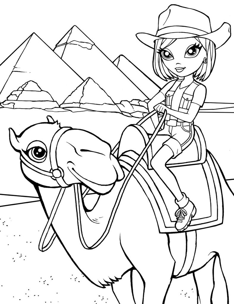 Lisa Frank Coloring Pages Free