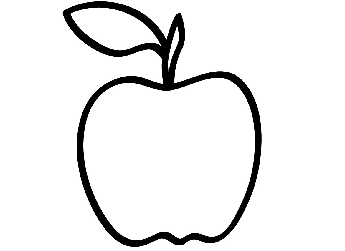 apple printable coloring pages - apple coloring pages for preschoolers 360coloringpages