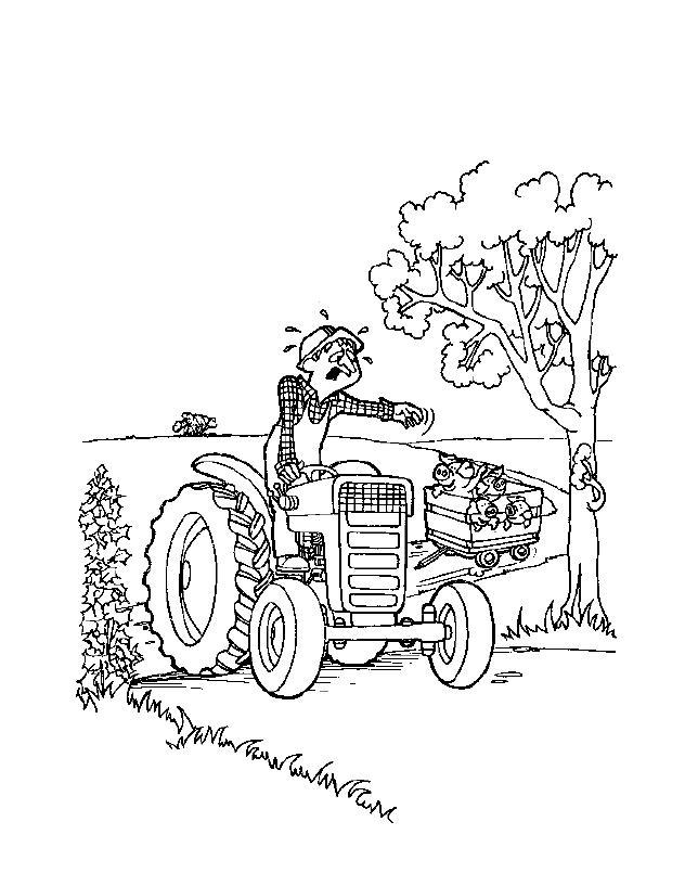 Farm Coloring Pages To Print Free