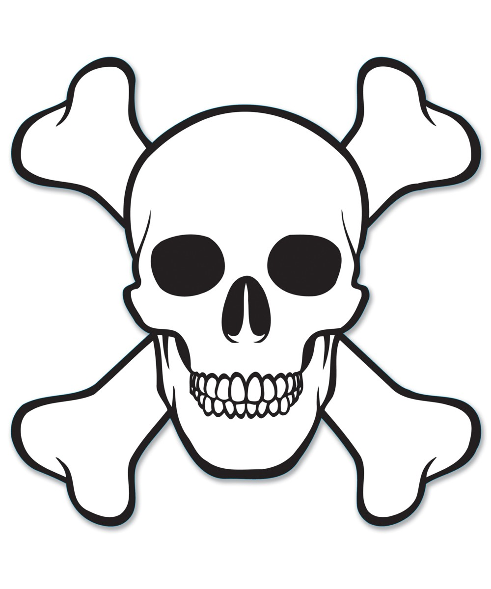 Free Printable Skull Coloring Page
