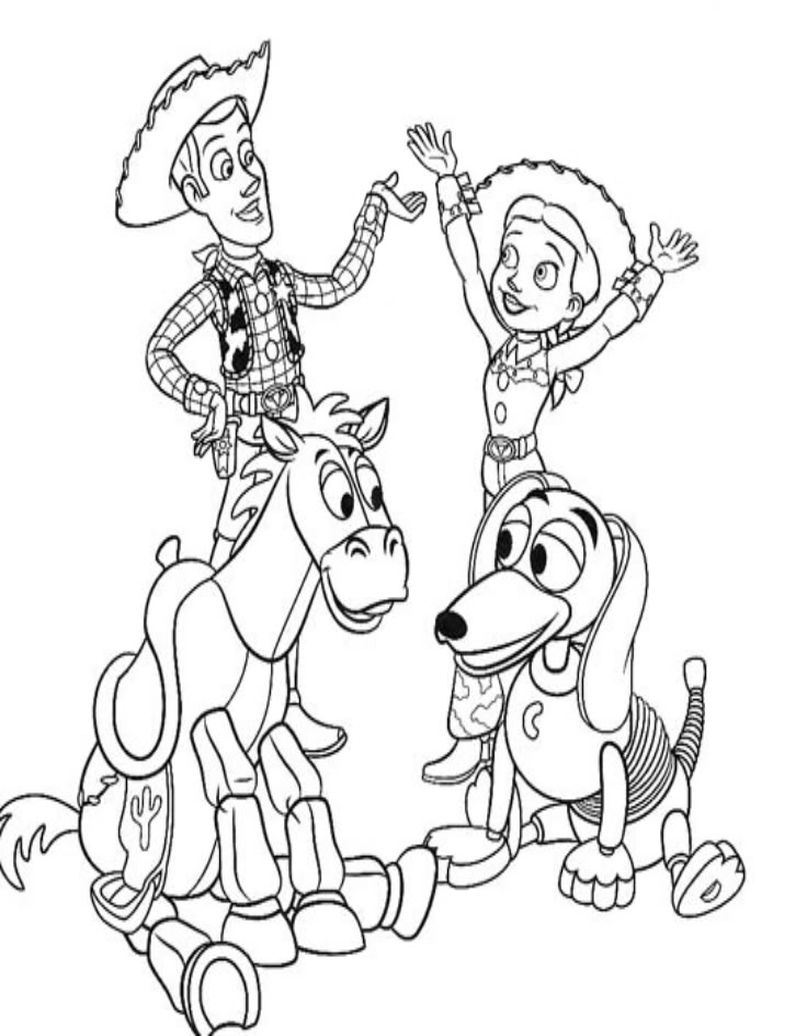 Free Printable Toy Story Coloring Pages For Kids | Toy story ... | 944x736