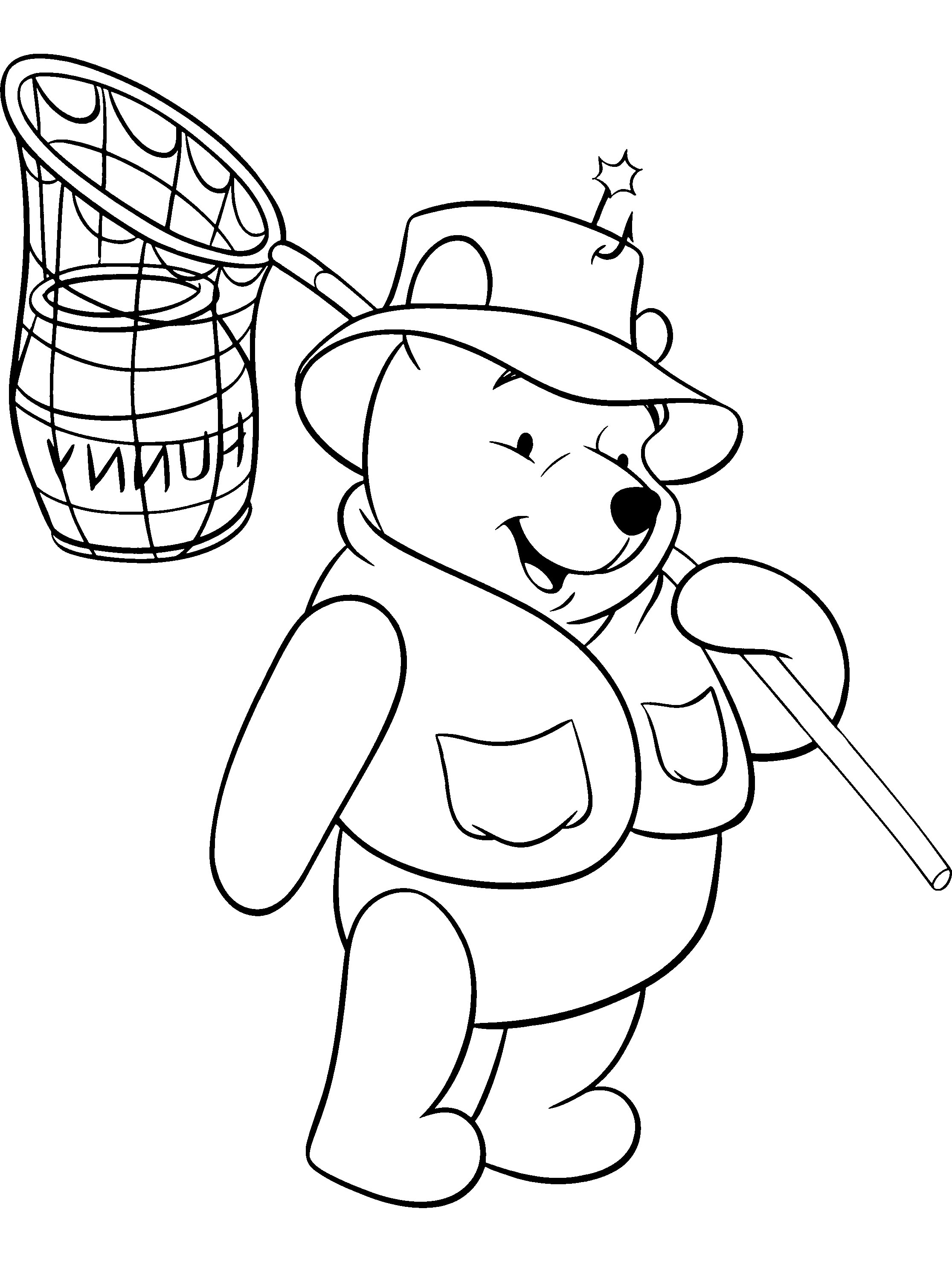 Printable Winnie The Pooh Coloring Pages for Kids