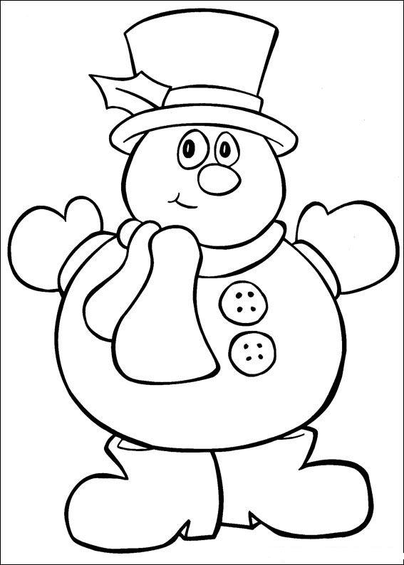 Free Snowman Coloring Sheets to Print