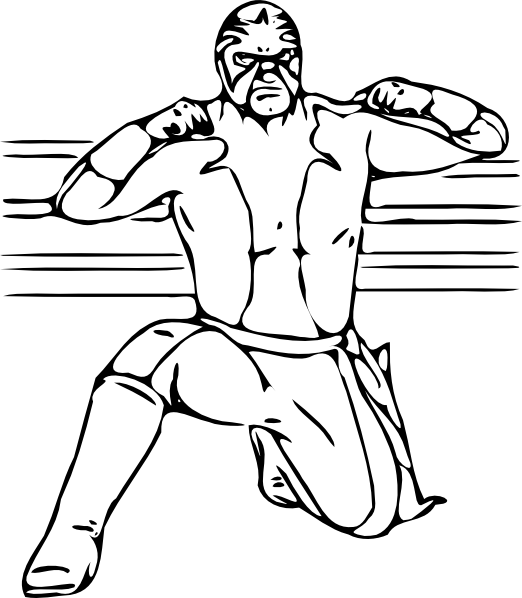 Free WWE Coloring Pages to Print