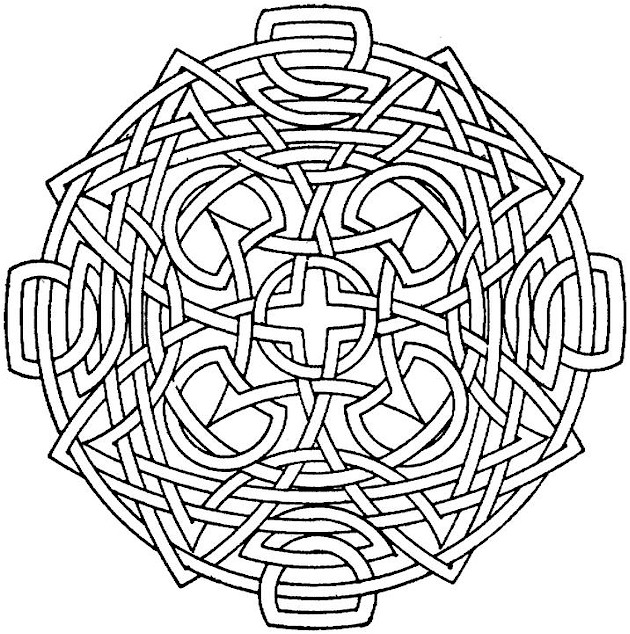 Fun Geometric Coloring Pages to Print