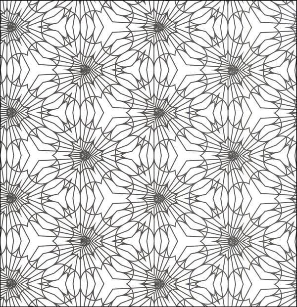 geometric art coloring page geometric coloring pages for adults printable - Free Printable Coloring Pages For Adults Geometric