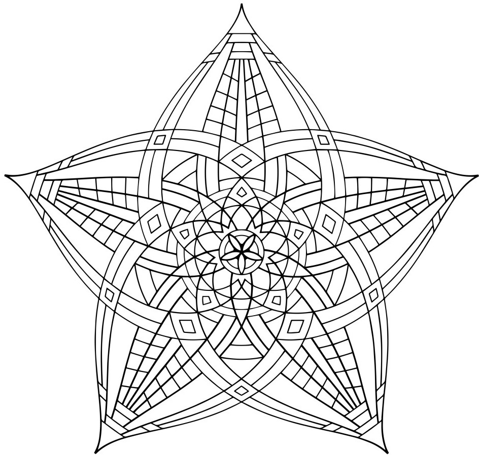 Geometric Coloring Pages 360ColoringPages