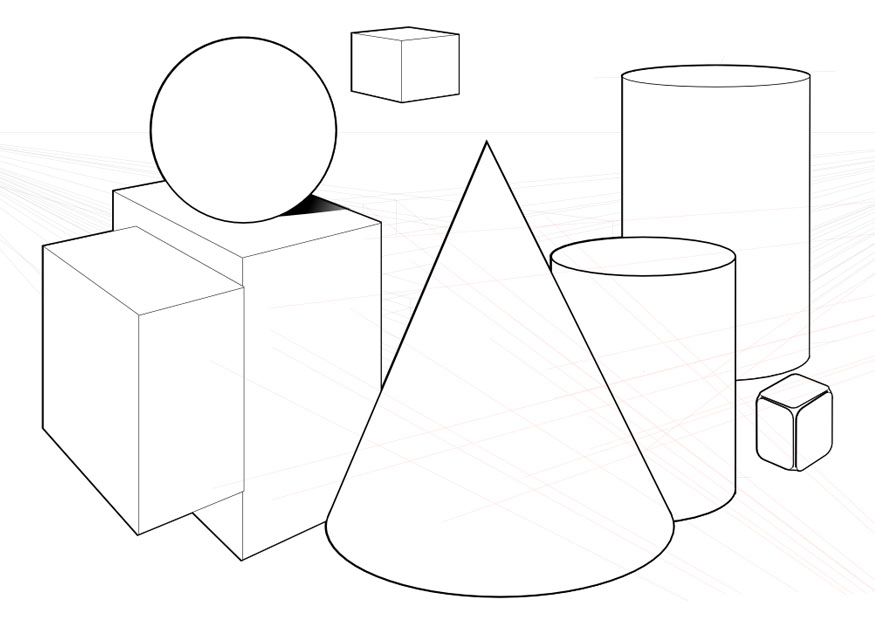 Geometric Shapes Coloring Pictures
