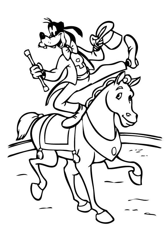 Goofy Coloring Pages for Kids
