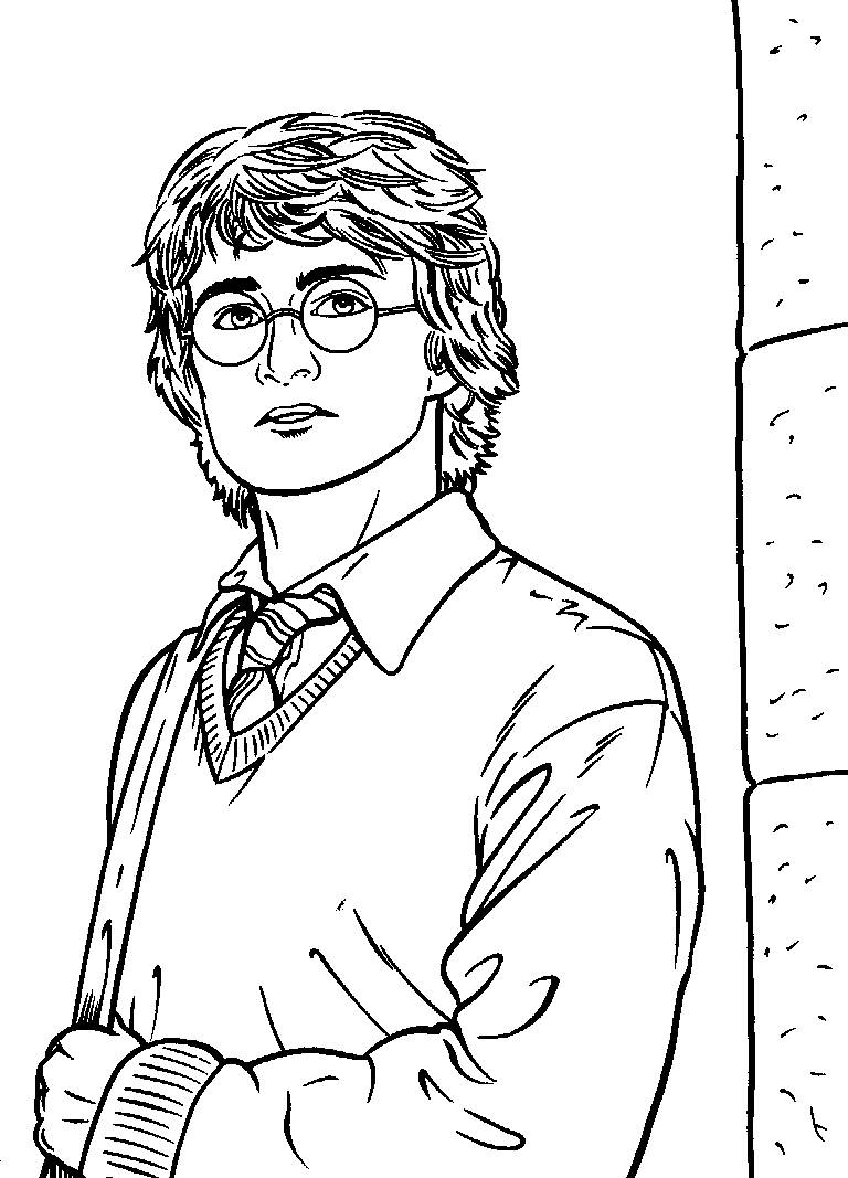 Harry Potter Coloring Pages for Kids