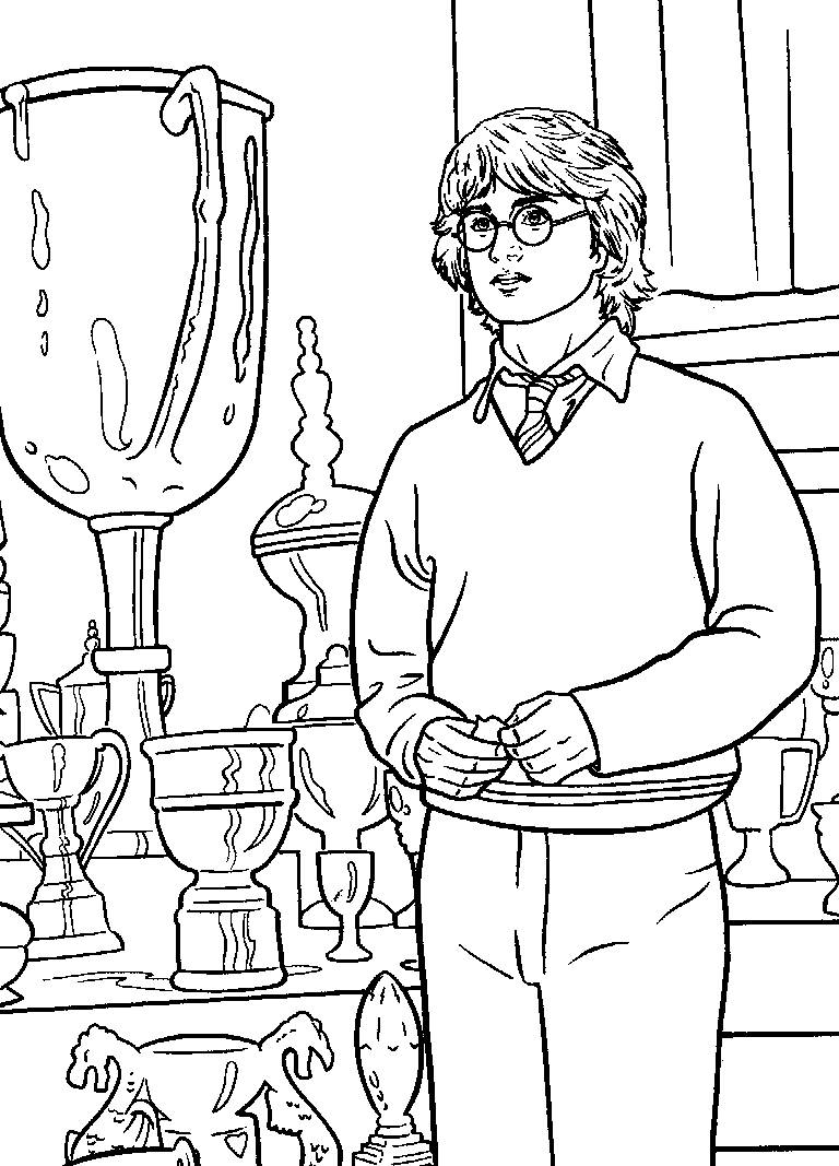 Harry Potter Coloring Sheets Printable