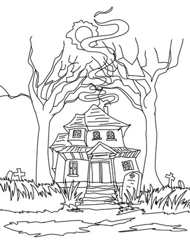 House Coloring Images