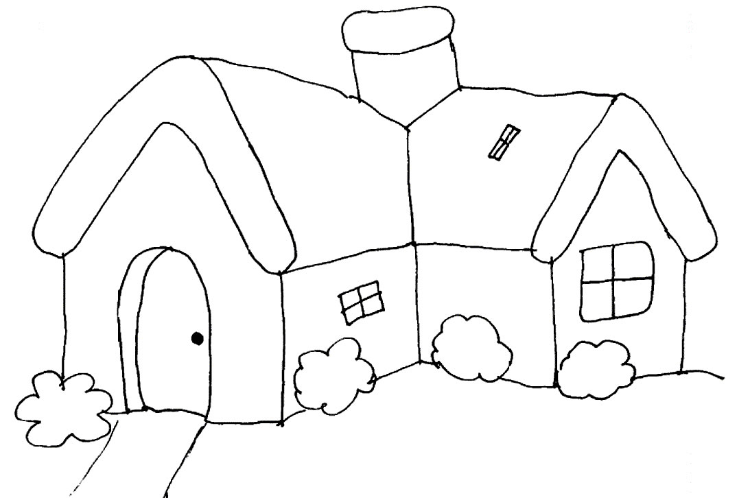 House Coloring Pictures
