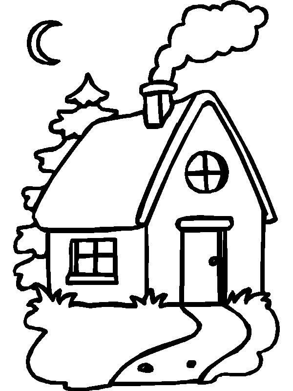 House Coloring Sheets Printable