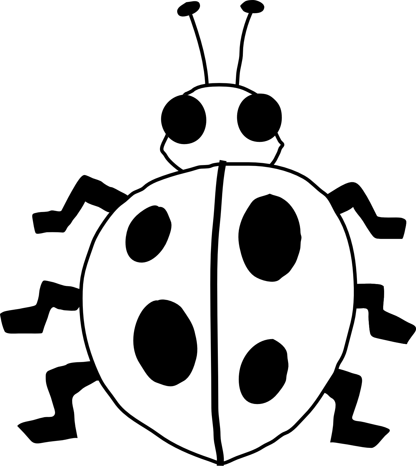 Ladybug Coloring Pages 360ColoringPages