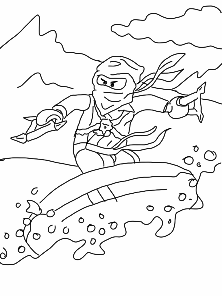 ninjago zane coloring pages - ninjago coloring pages 360coloringpages