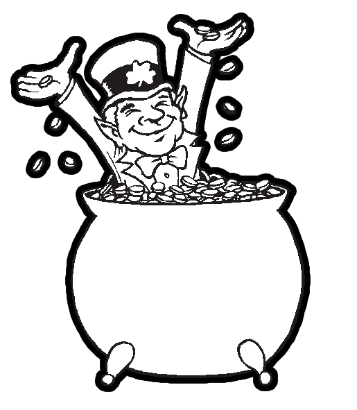leprechaun coloring pages 360coloringpages