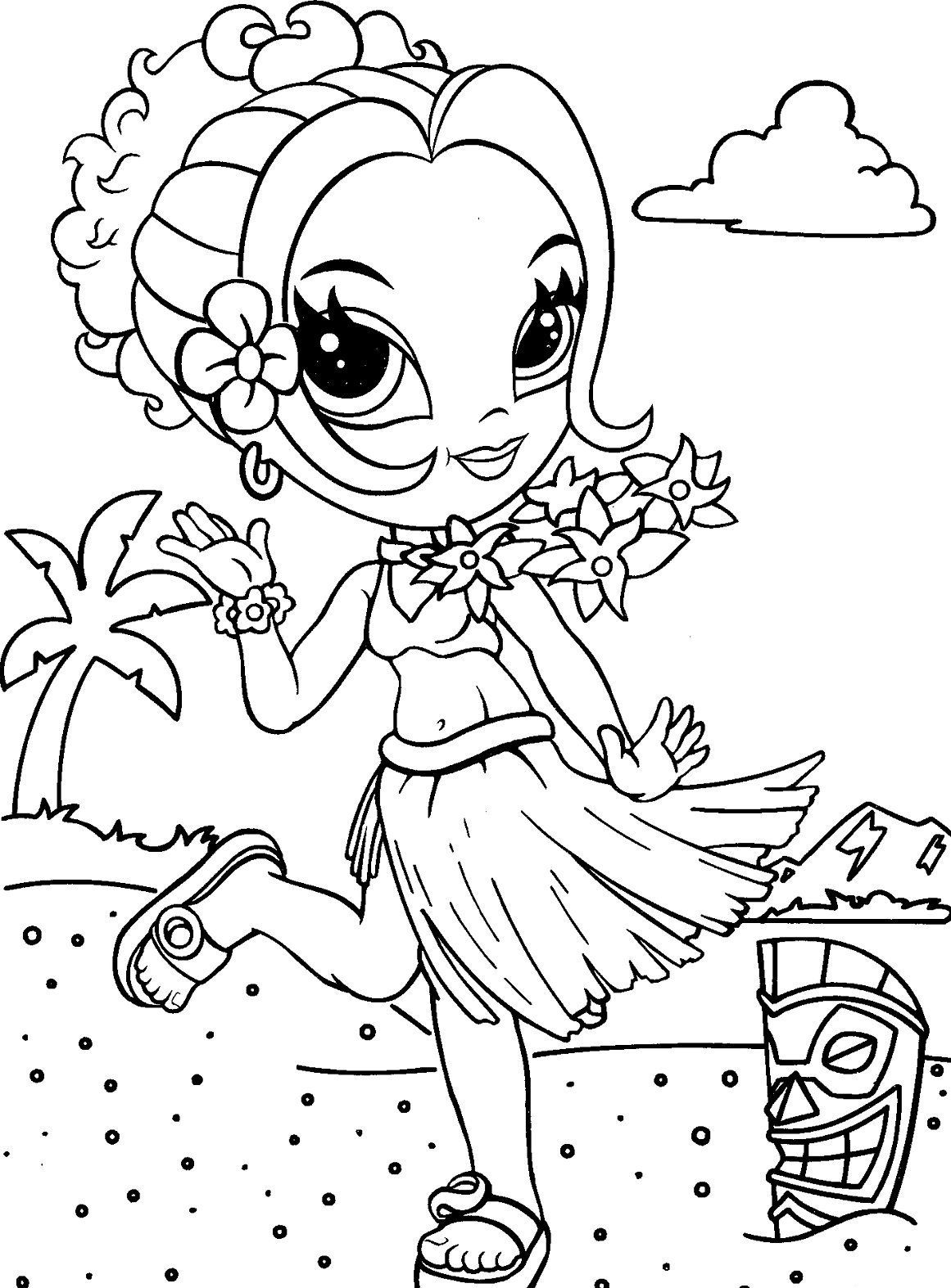Printable Lisa Frank Coloring Pages