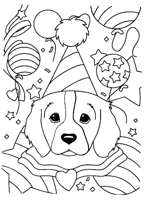 Lisa Frank Coloring Pages Printable Free