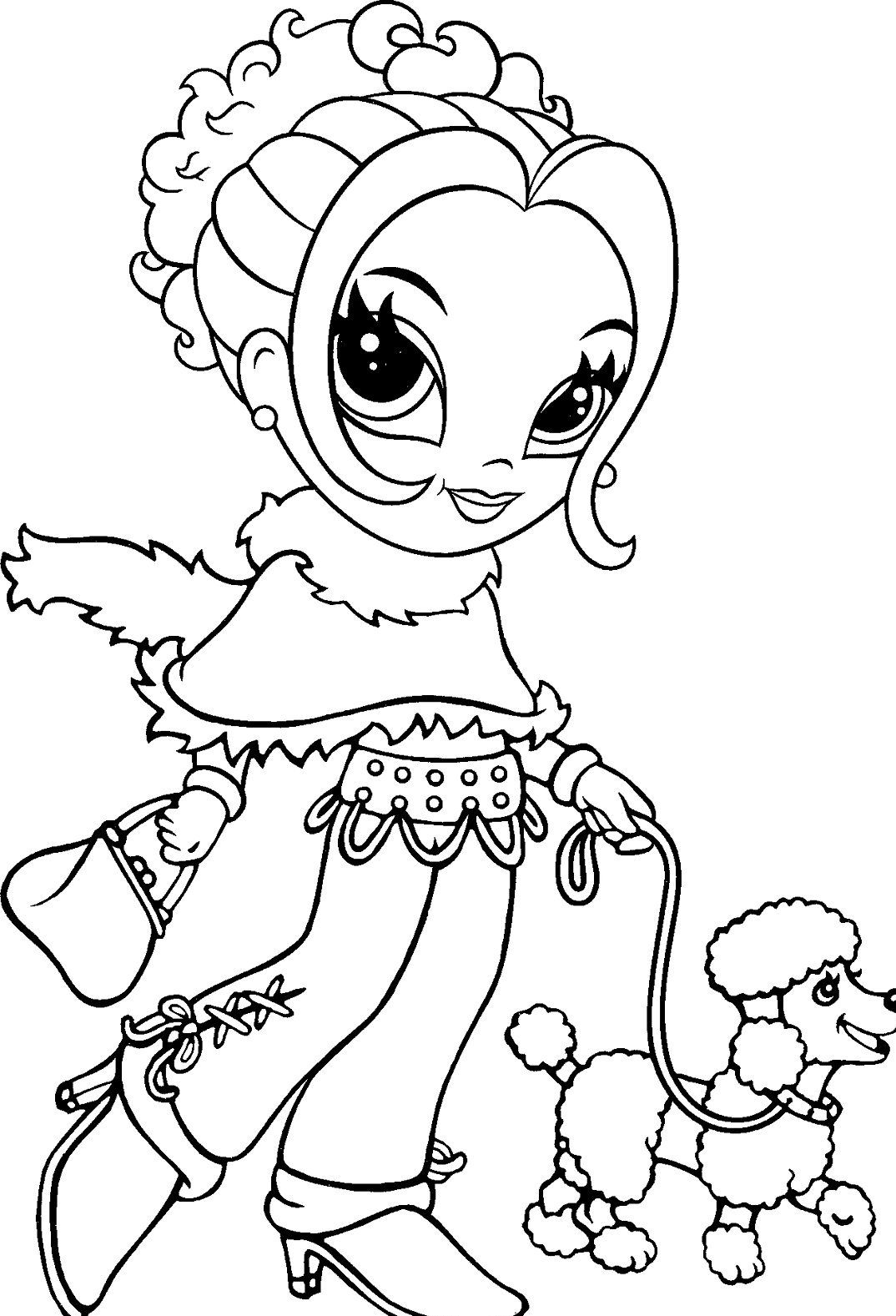 Lisa Frank Coloring Pages Printable