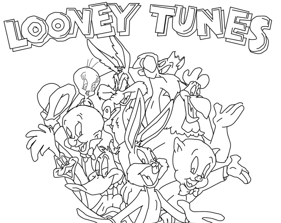 Looney Tunes Coloring Pages | 360ColoringPages