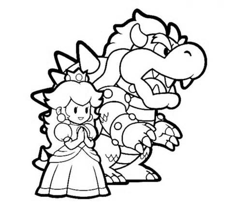 Free Printable Mario Coloring Sheets for Kids