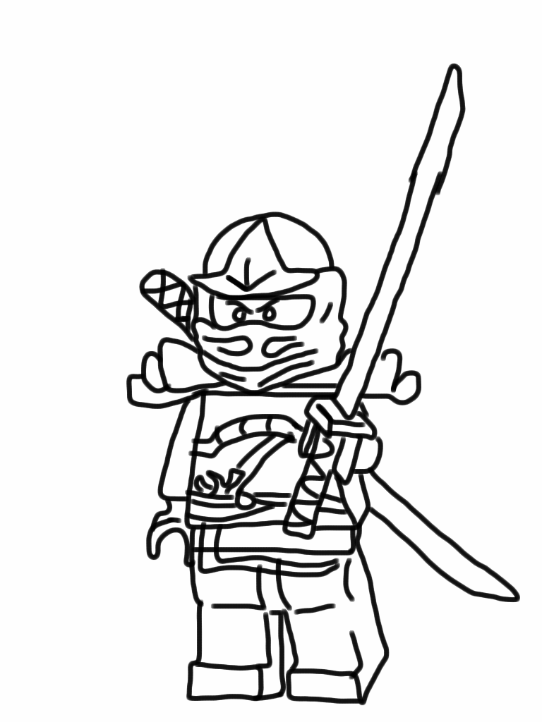 Ninjago Pictures to Color