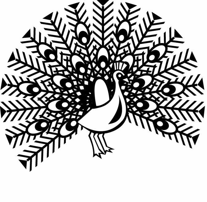 Free Peacock Coloring Sheets for Kids