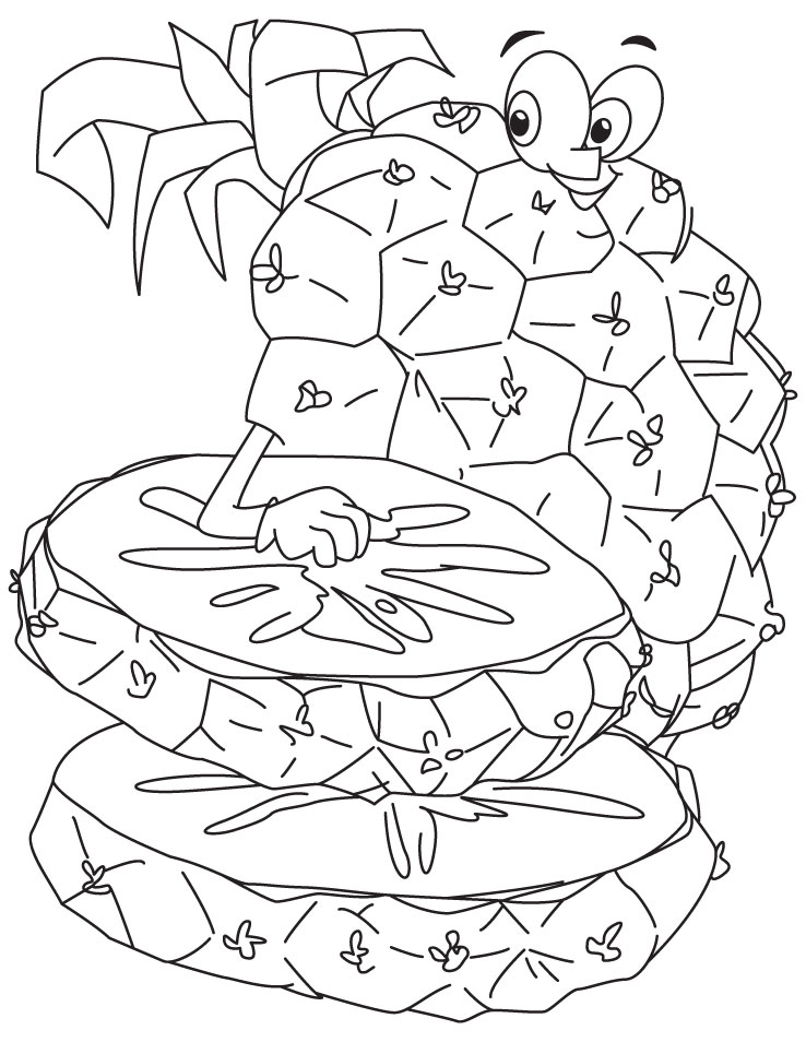 free coloring pages spongebob pineapple - photo#17
