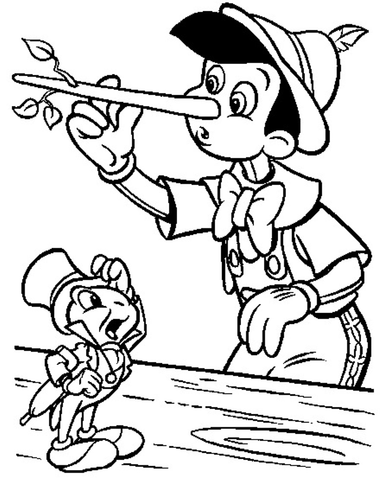 Pinocchio Coloring Pages to Print