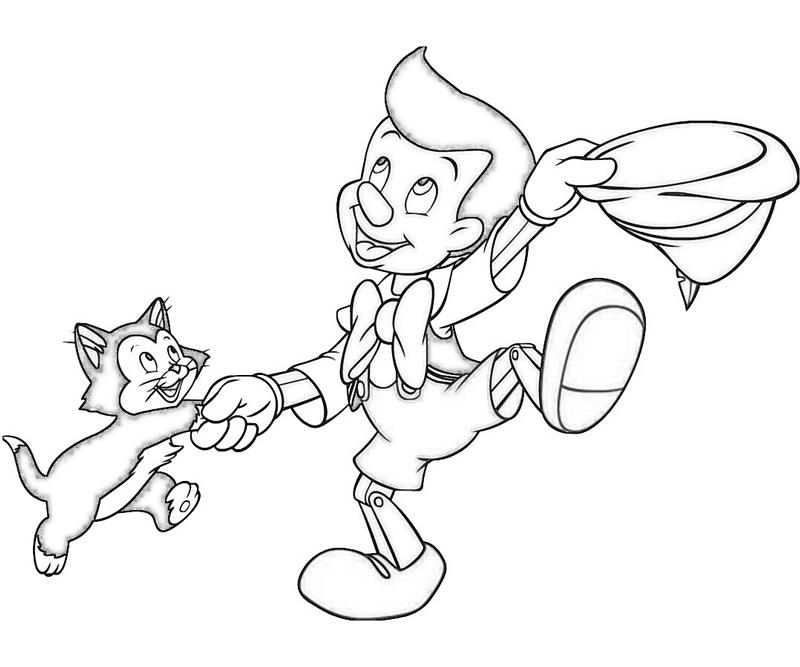 Pinocchio Coloring Sheets to Print