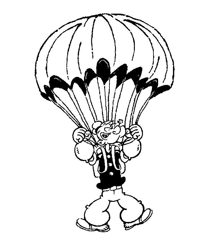 Popeye the Sailor Coloring Pages
