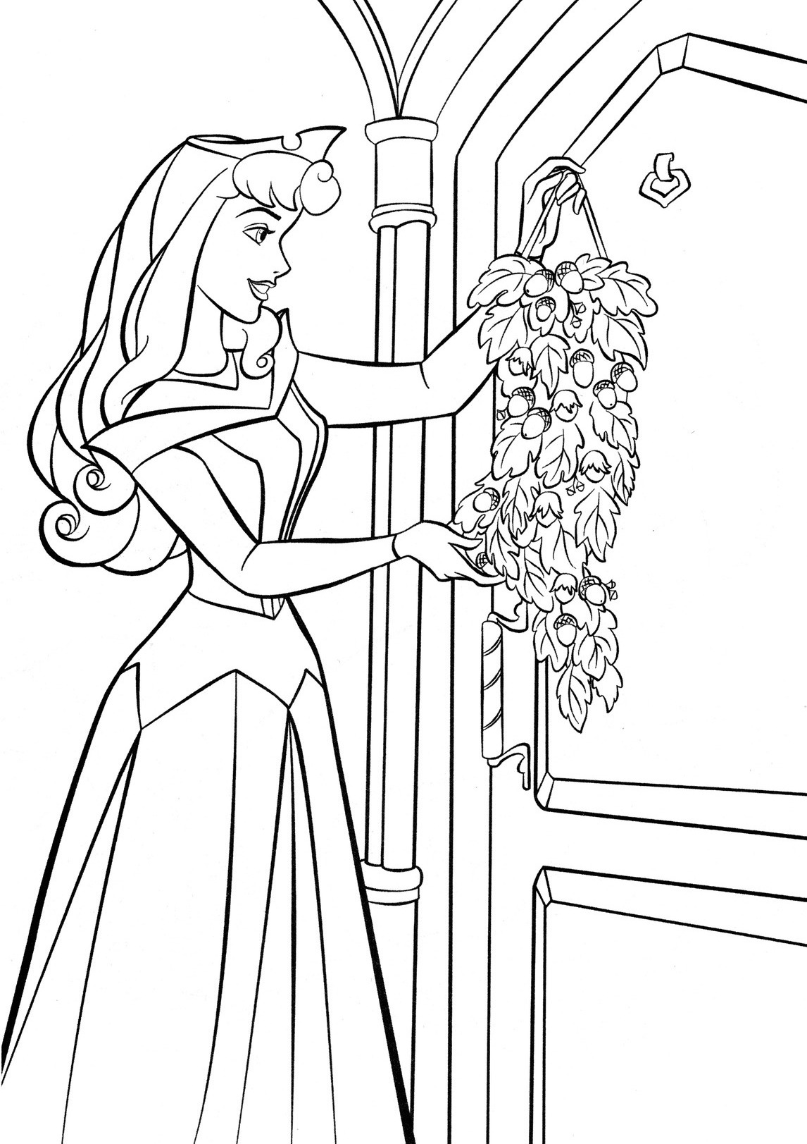 Free Princess Aurora Coloring Pages