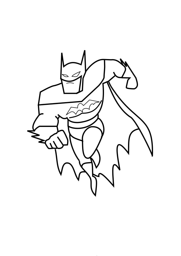 Batman coloring pages 360coloringpages for Batman coloring pages to print