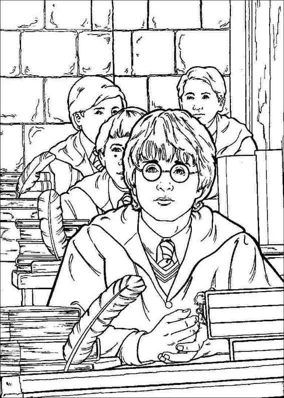 Printable Harry Potter Coloring Pages Free