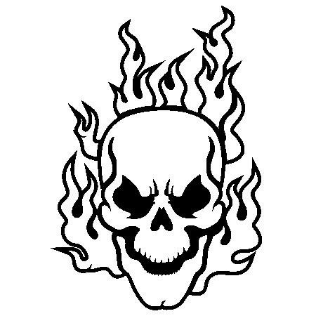 Printable Skull Coloring Pages for Free