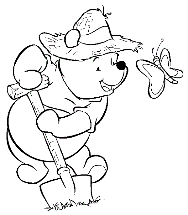 Printable Winnie The Pooh Coloring Pages Free
