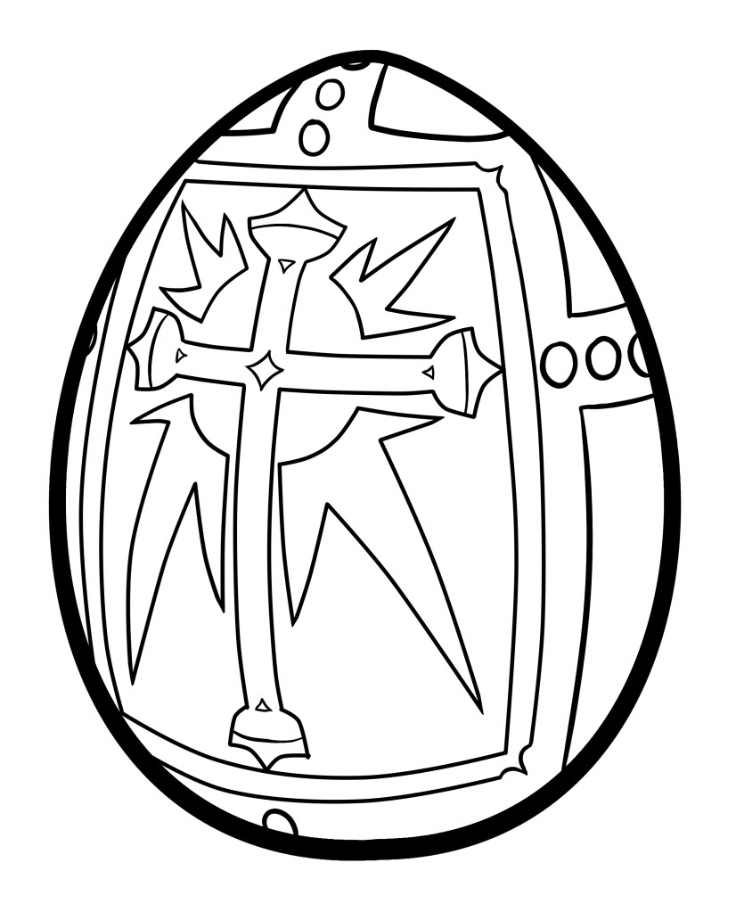 Easter Egg Coloring Pages | 360ColoringPages