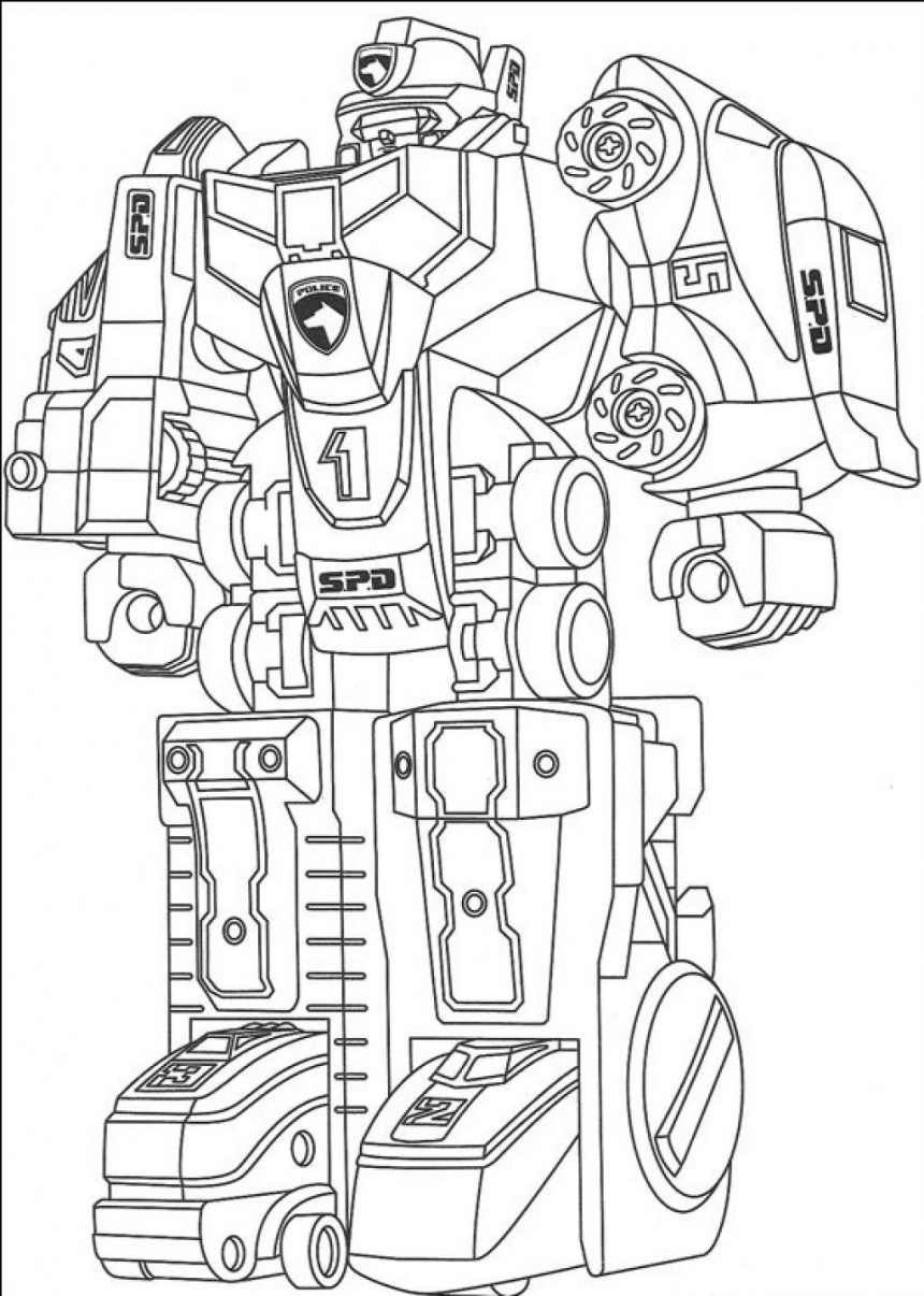 Transformers Robot Coloring Pages Free