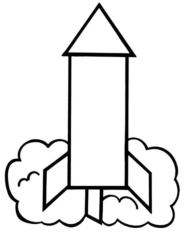 Rocket Coloring Pages to Print