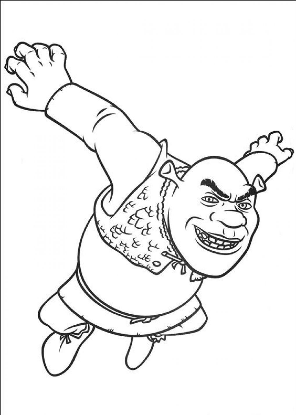 Free Shrek 3 Coloring Pages, Download Free Clip Art, Free Clip Art ... | 1430x1020