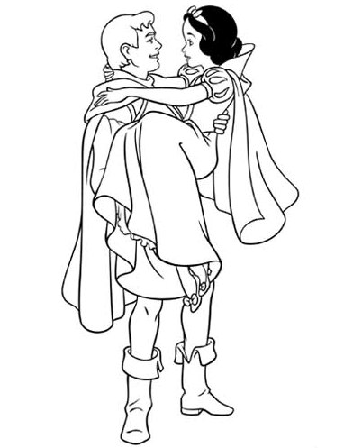 Snow White Coloring Pages Free to Print
